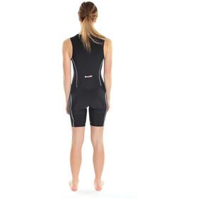 Dare2Tri Combinaison avec zip sur le devant Femme, black/white